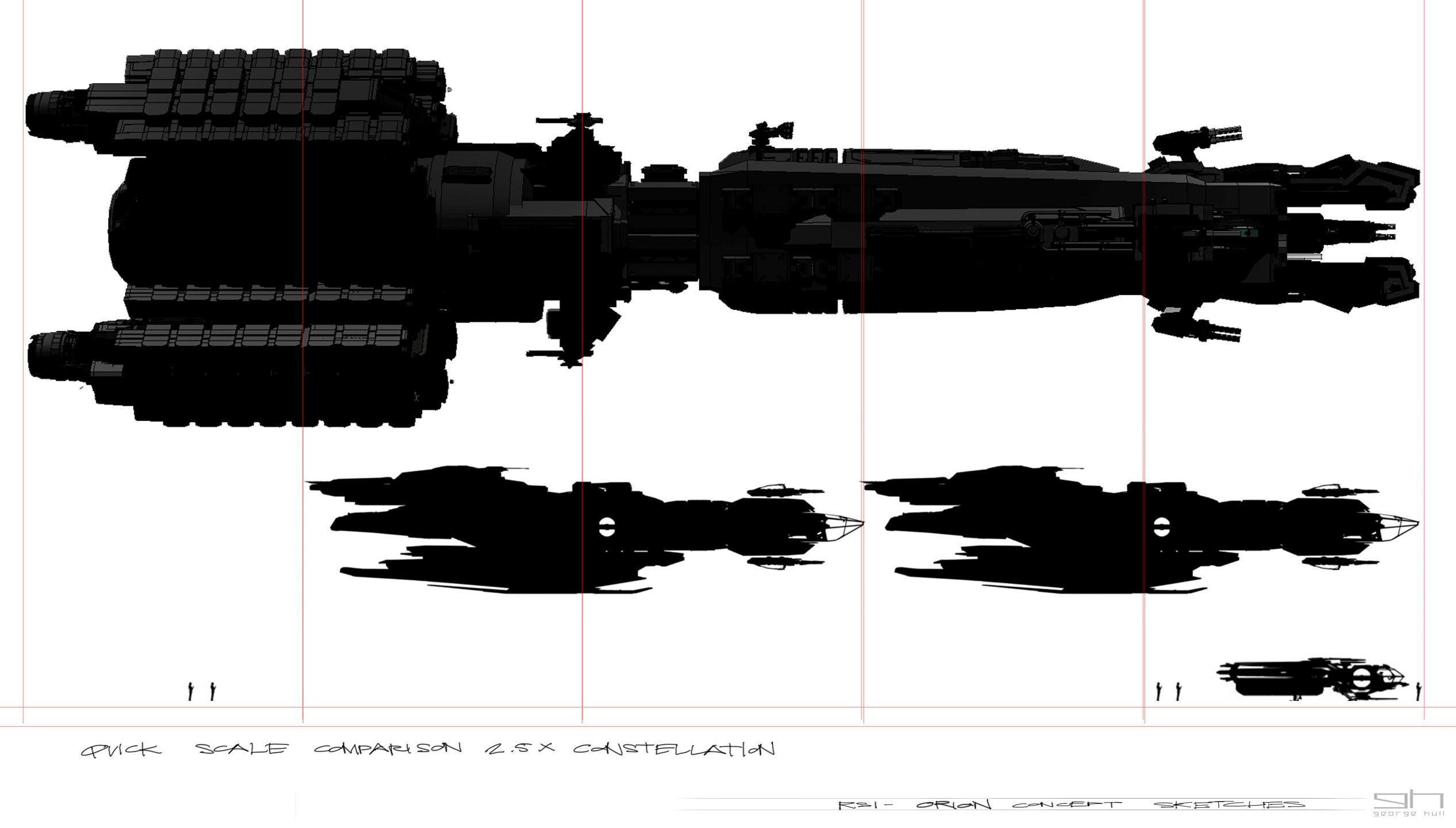 ORION Mining Platform size -> Constelation -> Aurora