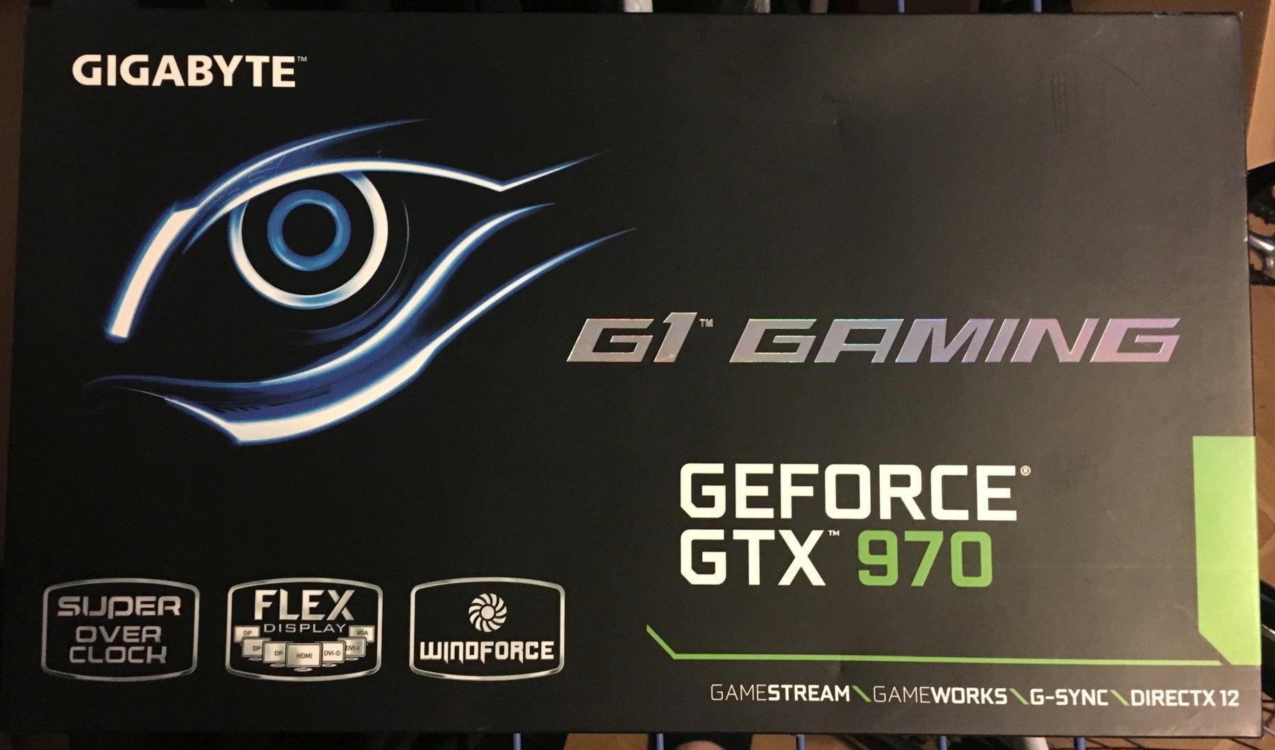 Gigabyte GeForce GTX 970 G1 Gaming
