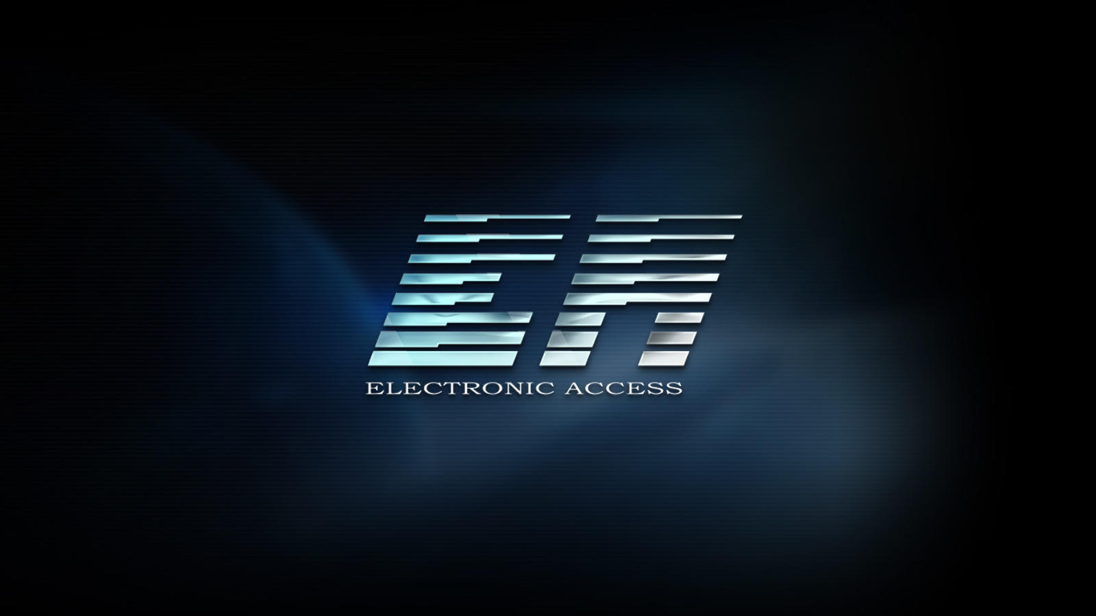 Logo Electronic Access - ekran ładowania