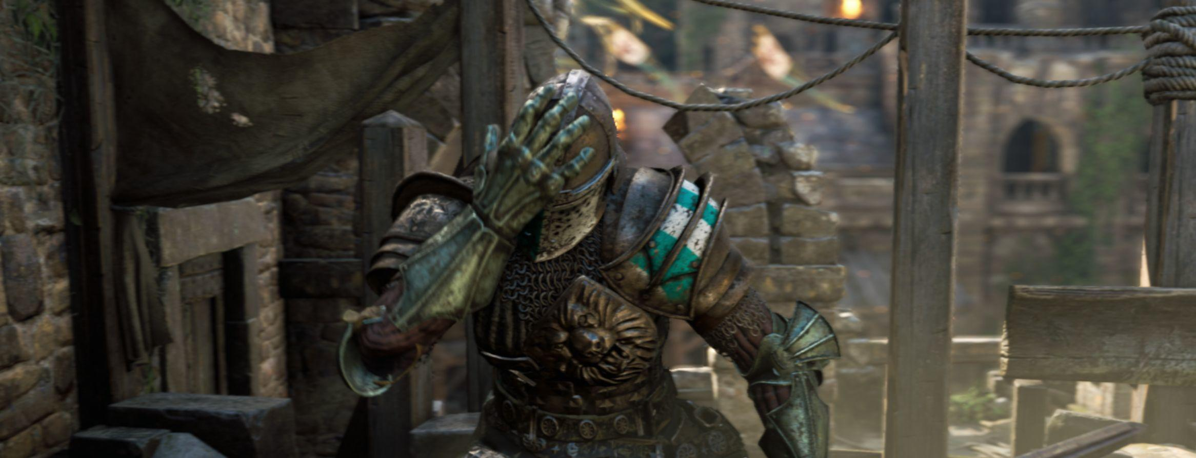 For Honor facepalm