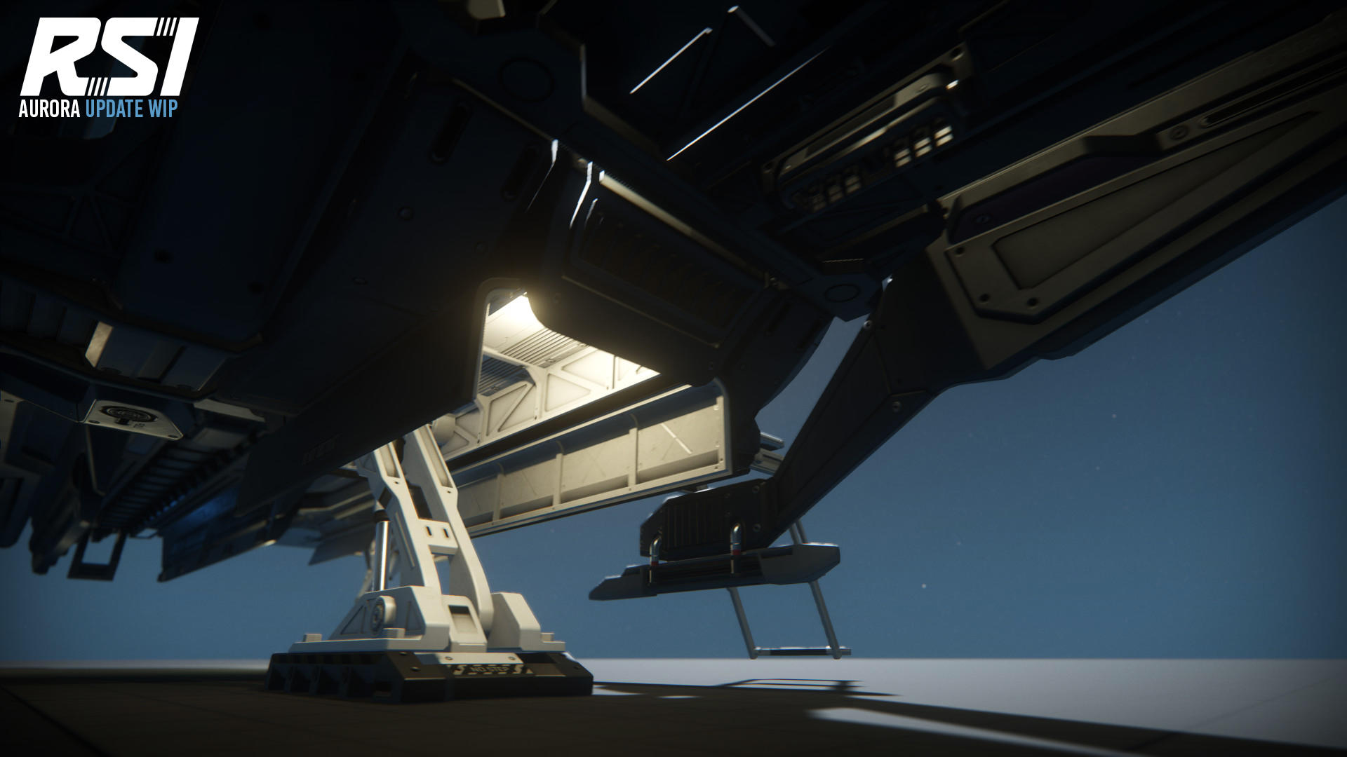 RSI Aurora podwozie