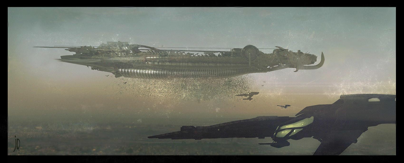 John Dickenson Carriership Vanduul the Swarm