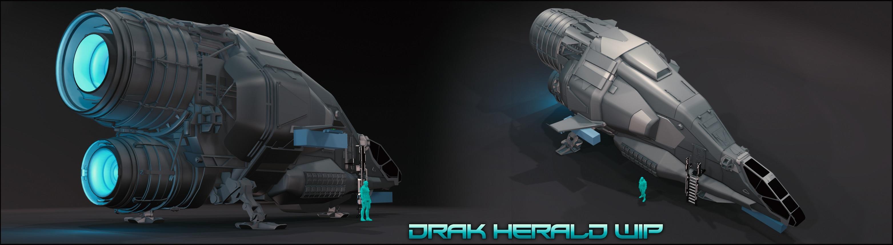 Drake Herald WIP