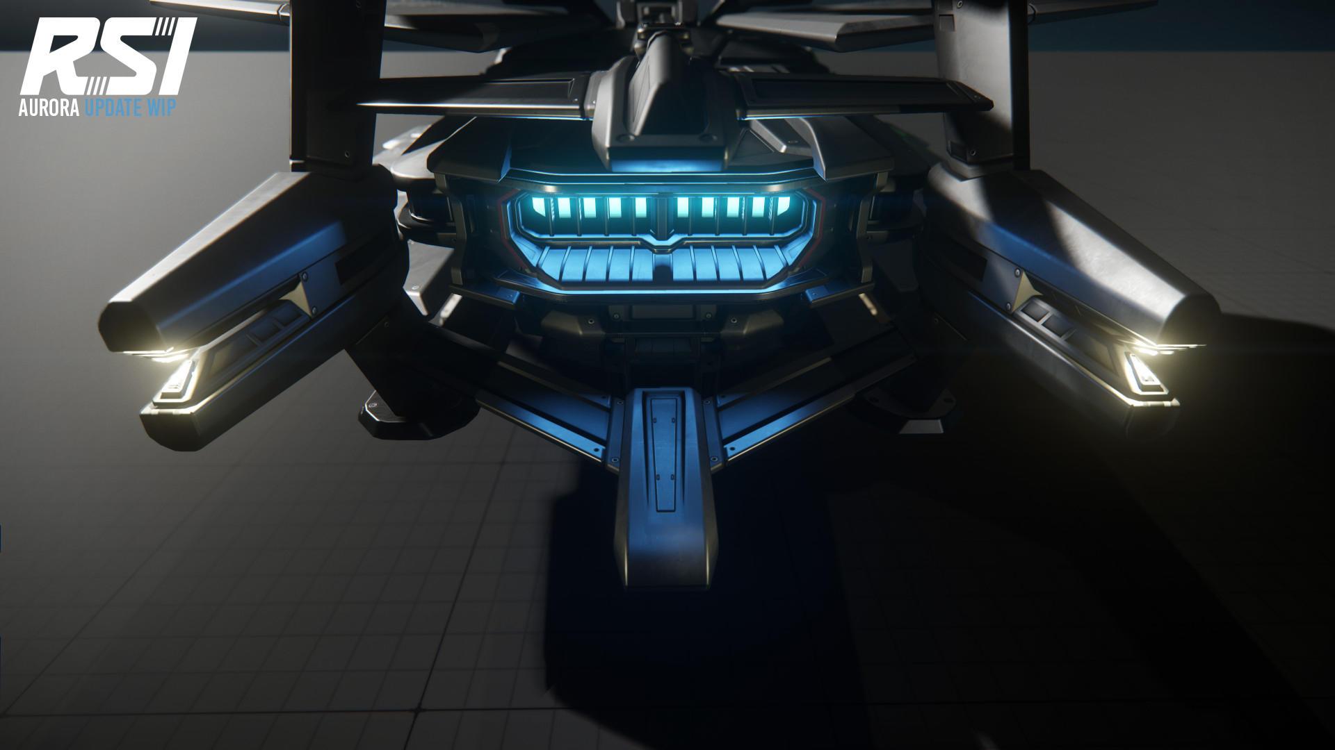 RSI Aurora dysza silnika
