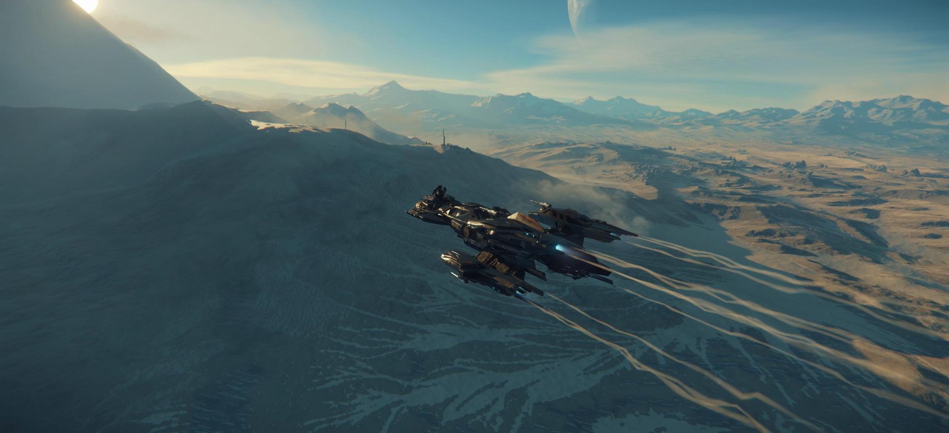 Aquila w atmosferze, Leir III