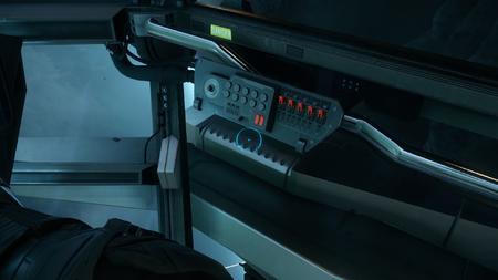 Wygląd wewnętrzny - kokpit - prawy panel przełączników