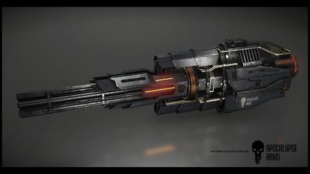 Apar Ballistic Gatling S4