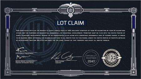 Certyfikat na działkę 4x4 km