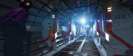 Javelin - korytarz
