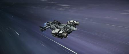 Cutlass Black w trakcie Quantum Travek