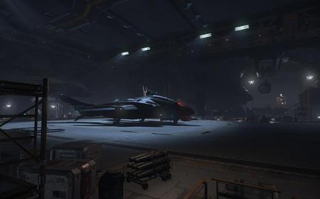 Vanguard w bazie Levsky, Delamar, Nyx