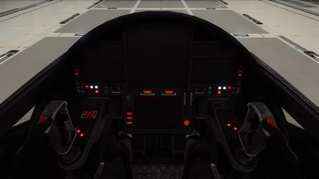 Avenger kokpit - ekrany z systemami