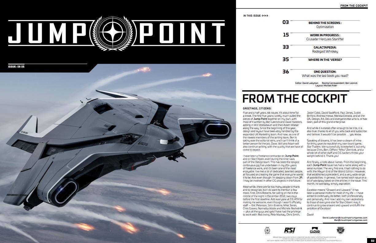 Magazyn Jump Point wydanie 06.05 - Excelsior