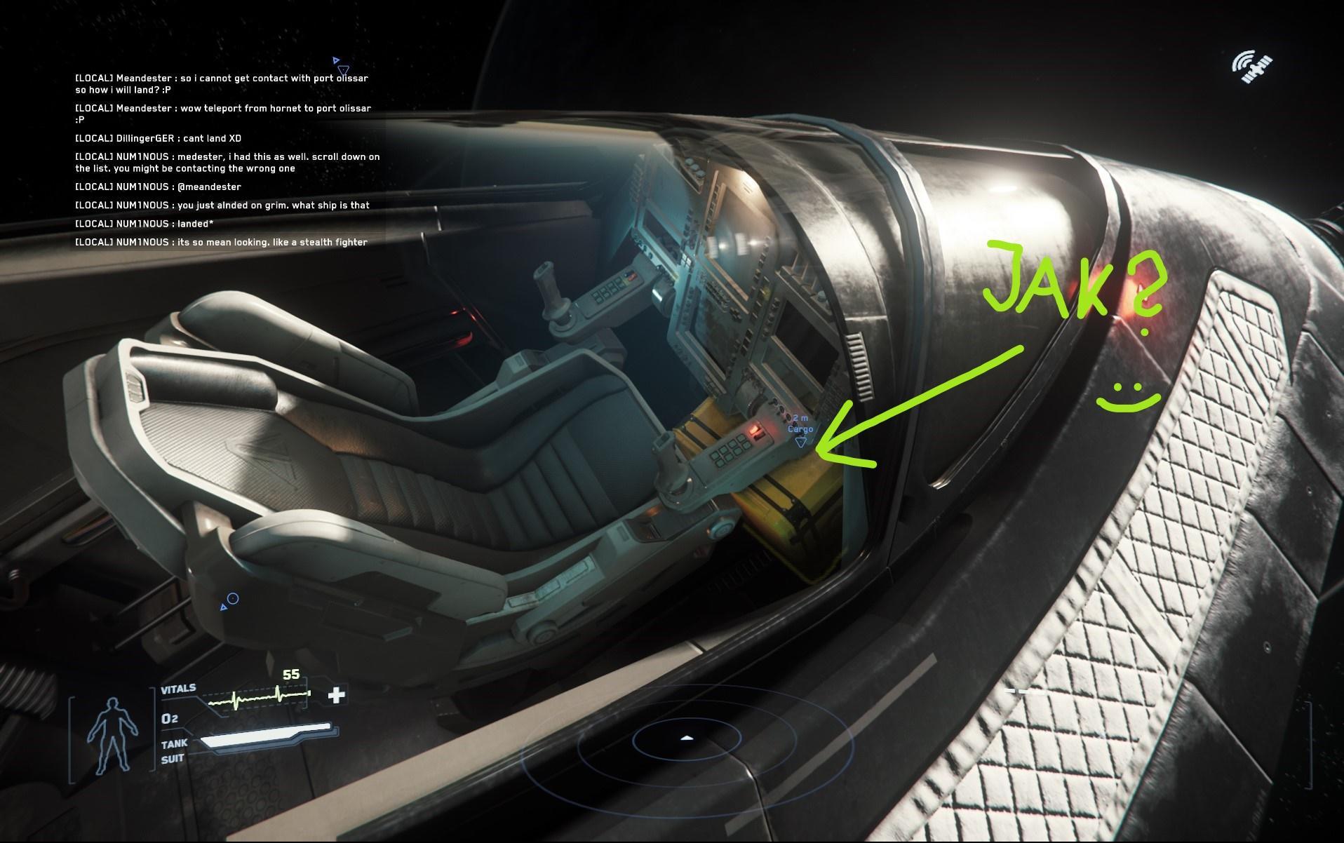 Cargo - pod nogami?