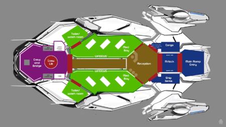 Schemat wnętrza RSI Apollo