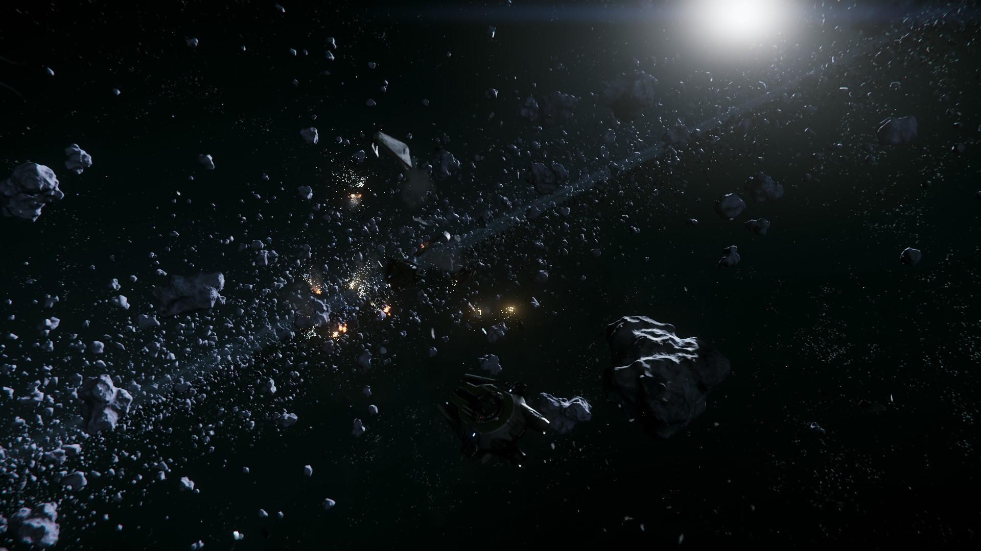 Tragedia w pasie asteroid