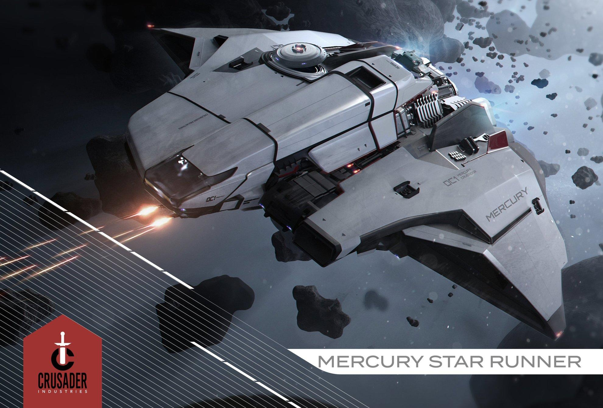 Crusader Mercury Star Runner