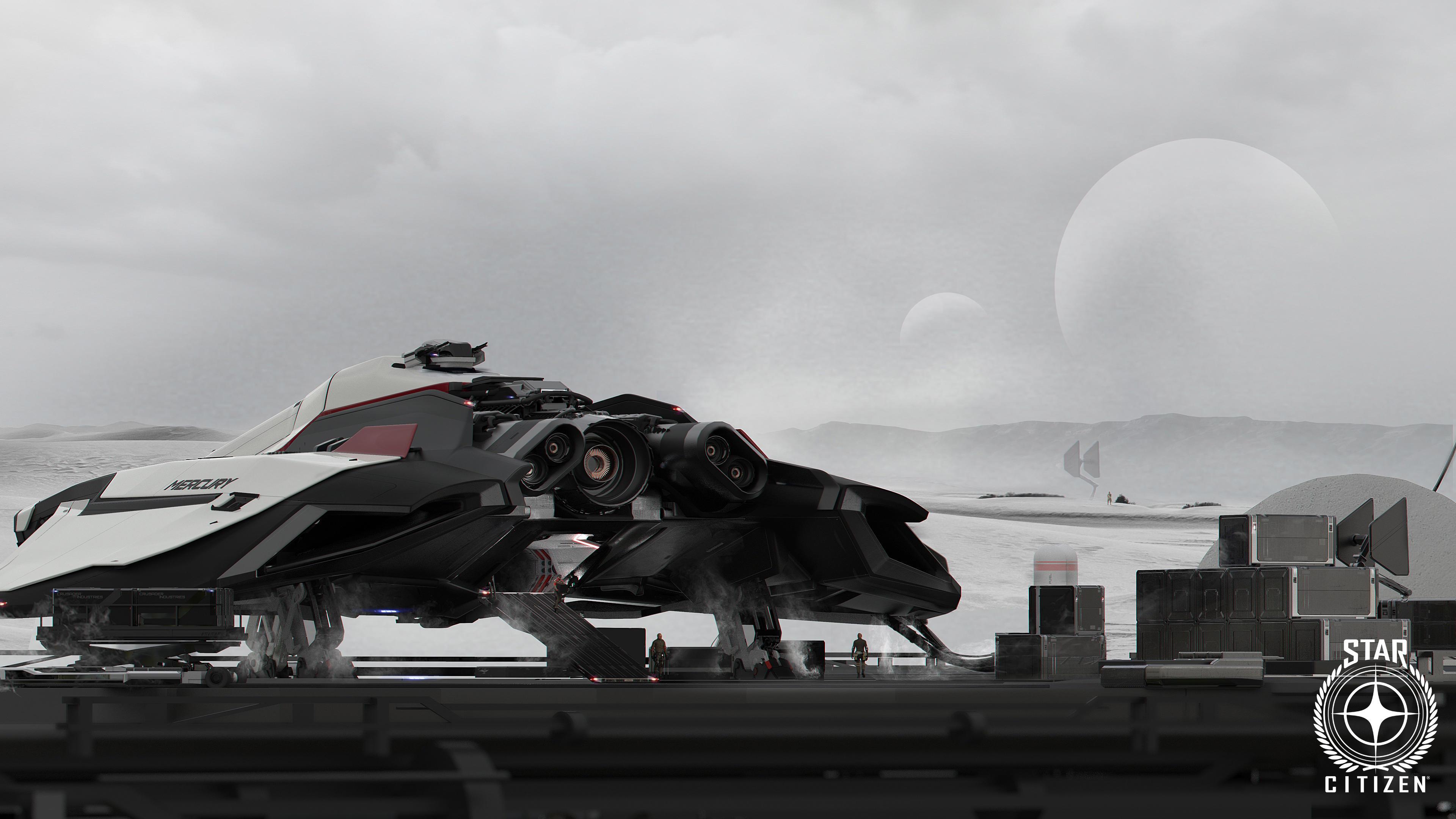 Mercury Star Runner - widok z tyłu