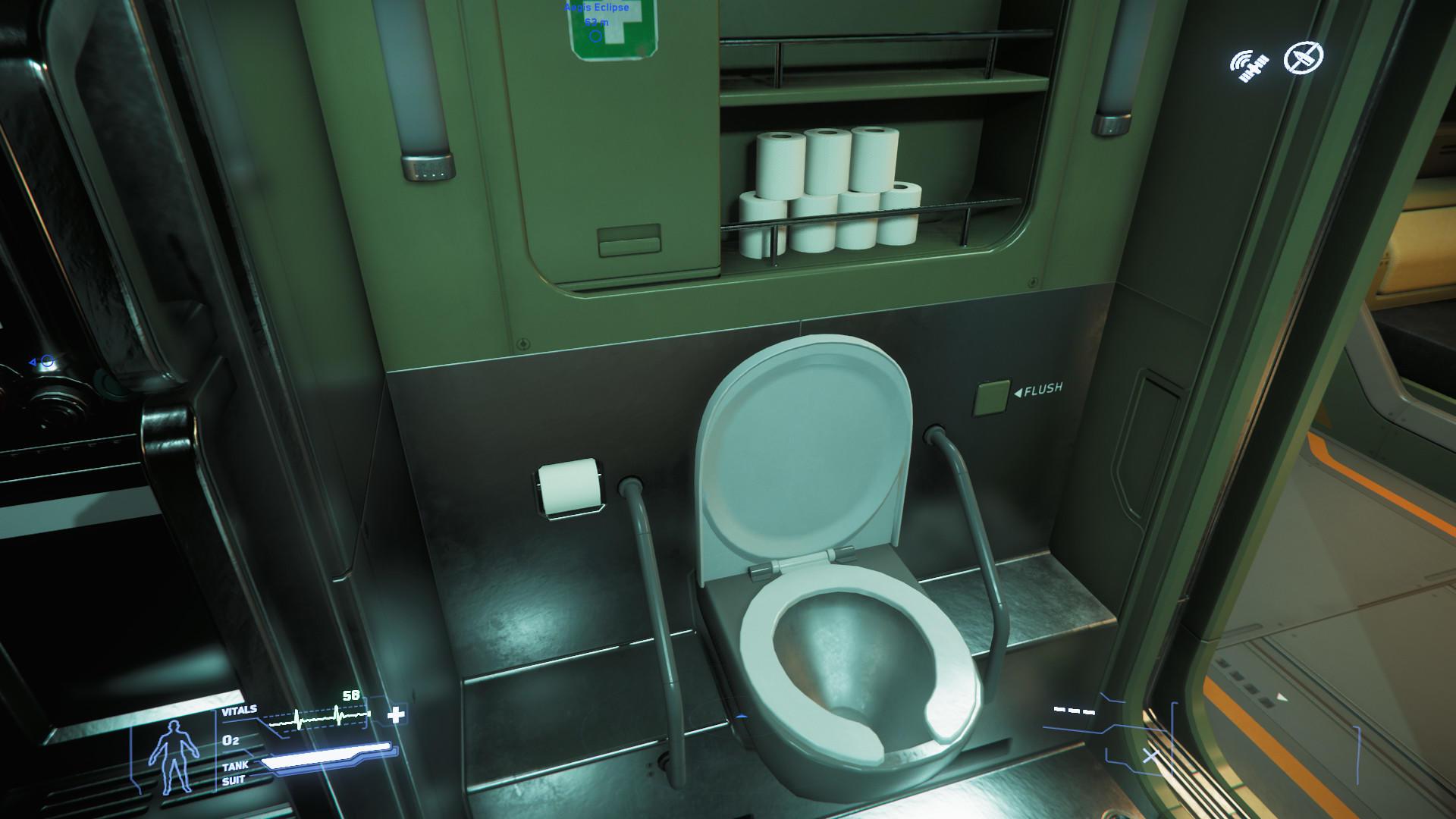 Reclaimer toaleta