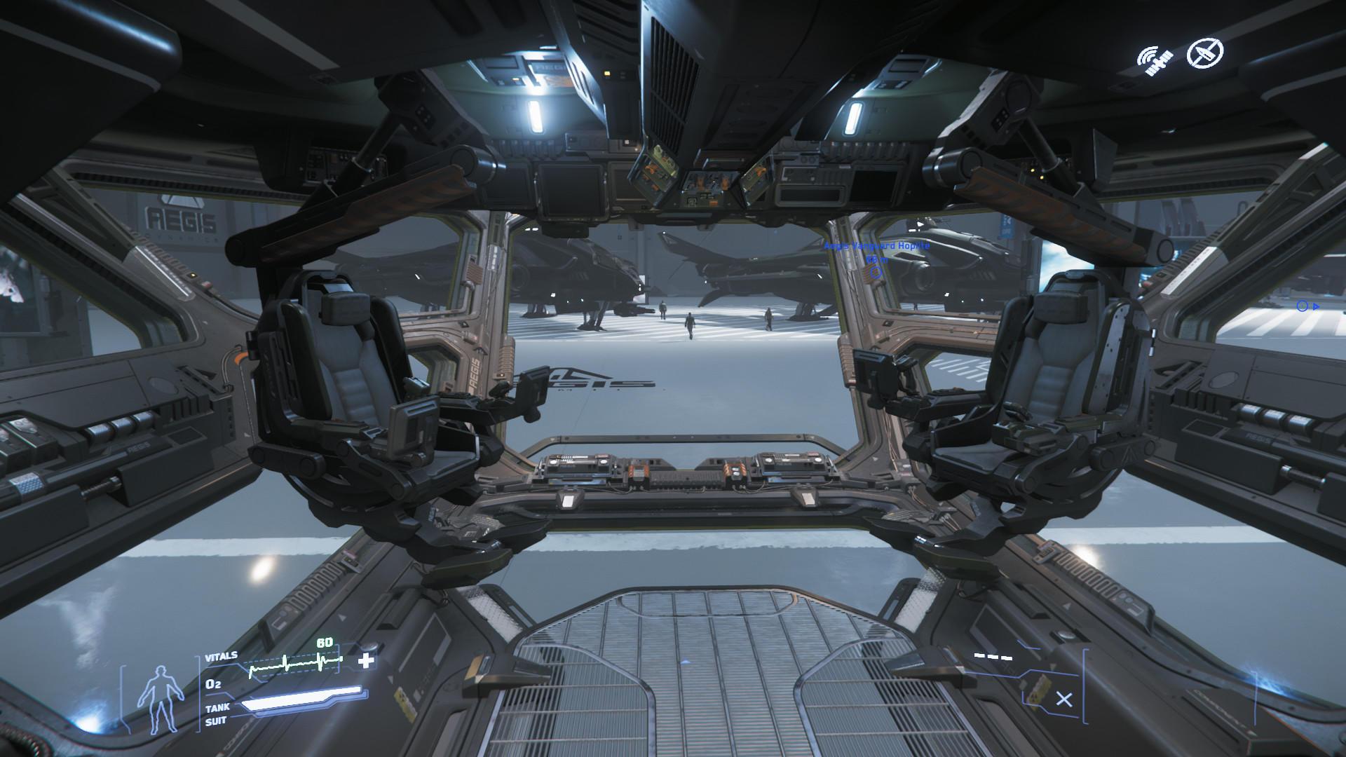 Hammerhead kokpit