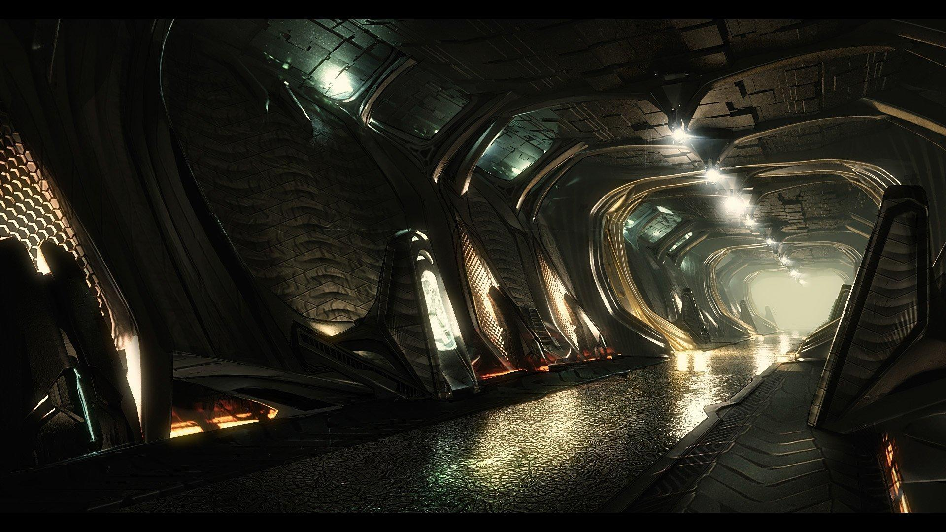 Banu Defender - korytarz