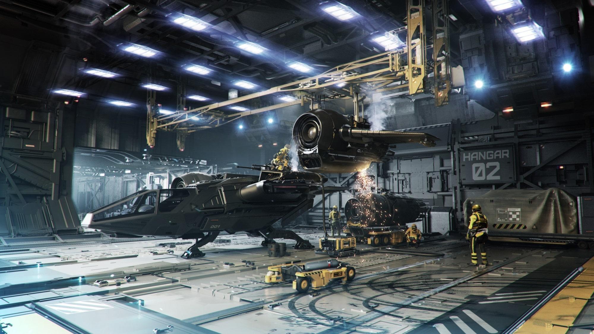 Kraken - hangar