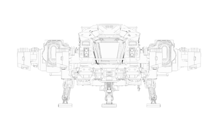 ARGO SRV schemat od przodu