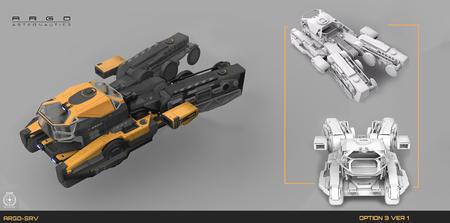 Prace koncepcyjne SRV 03