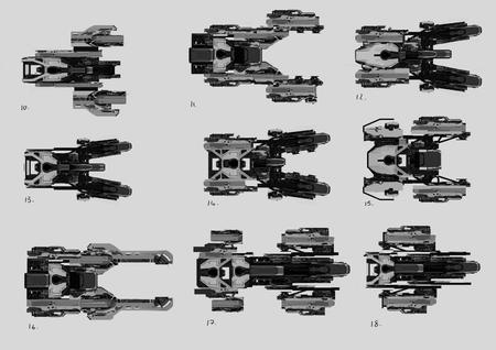 Prace koncepcyjne SRV 04