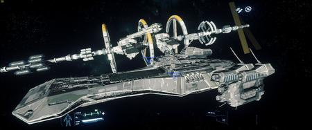 RSI Bengal Carrier i Javelin przy Port Olisar