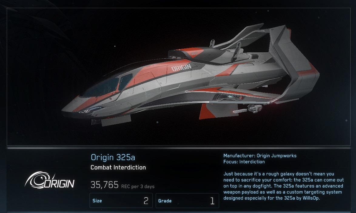 Origin 325a - rework
