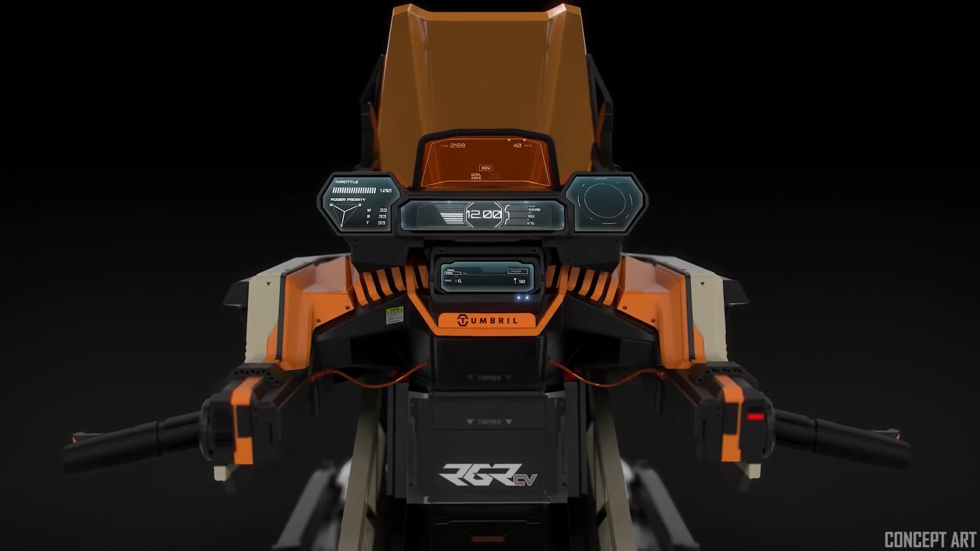 Tumbril Ranger - Kierownica