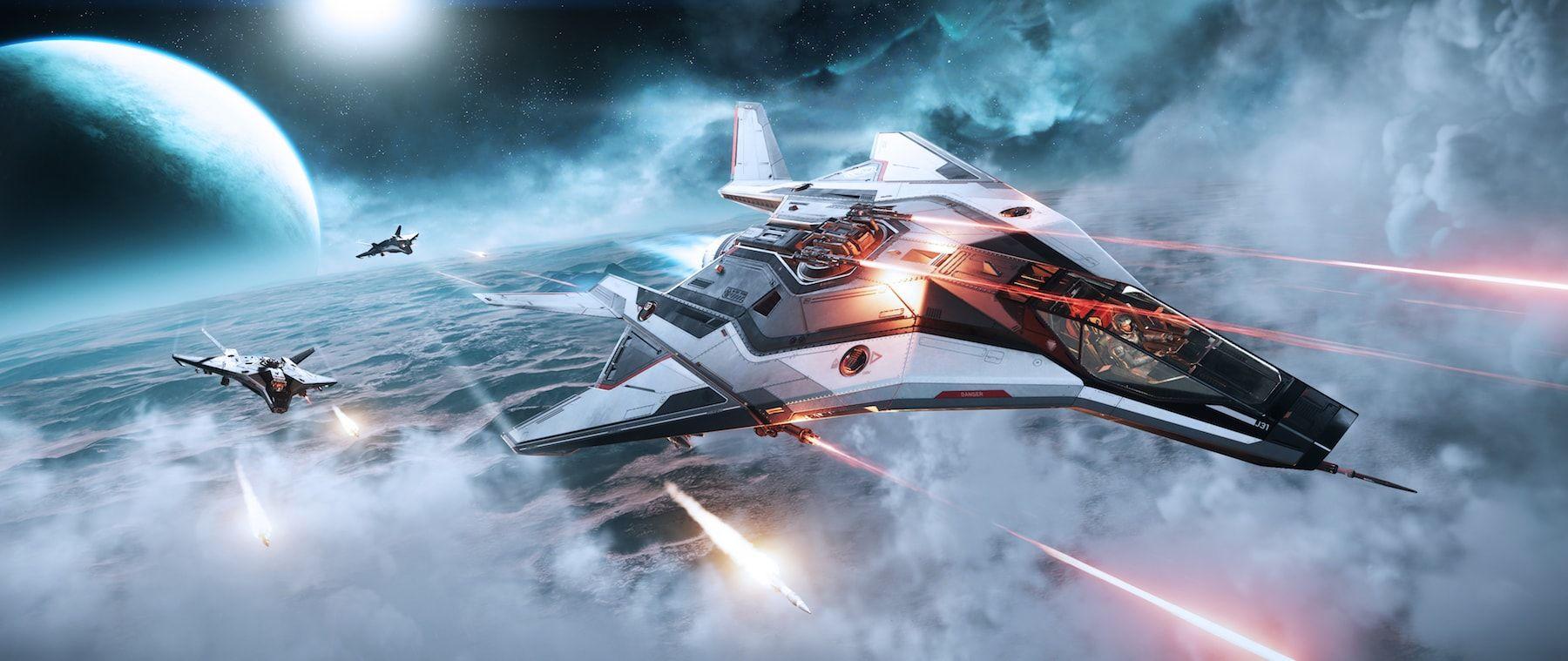 Anvil Aerospace Arrow - lot nad powierzchnią Magdy