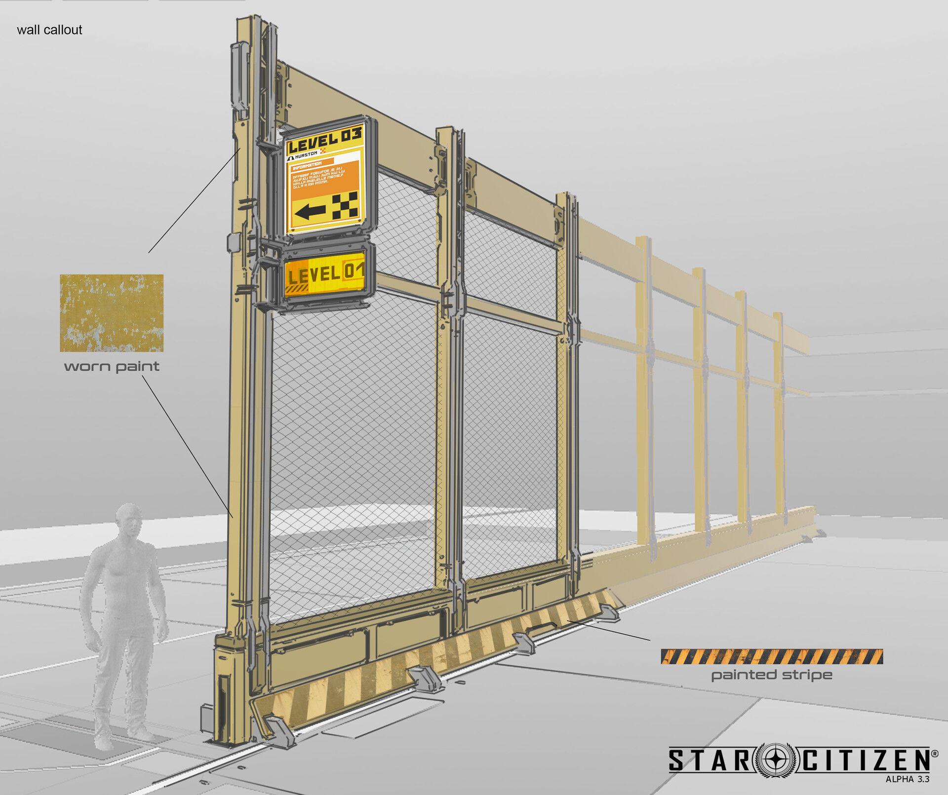 Płot modularny - koncept 01