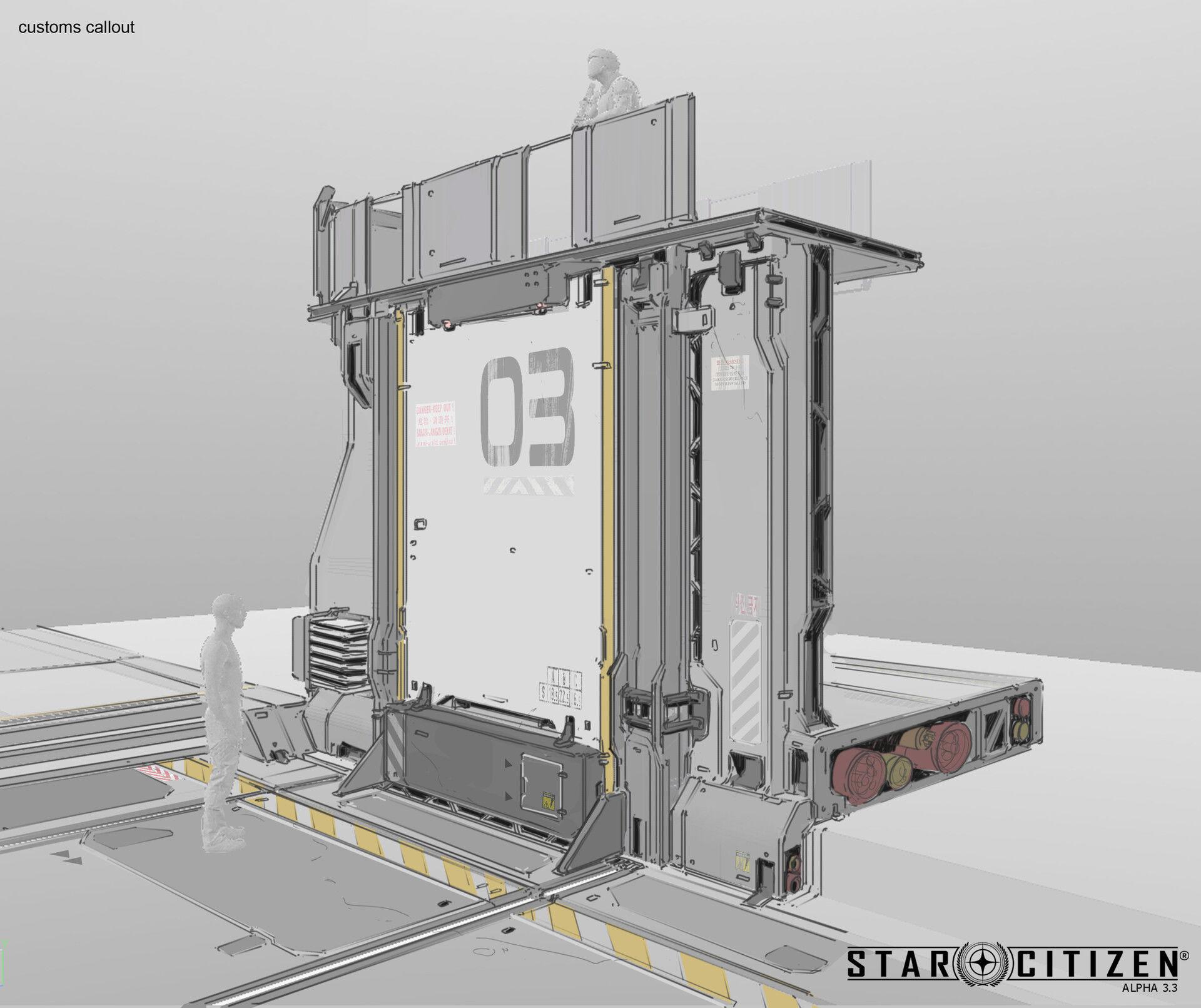 Ściana modularna - koncept 02