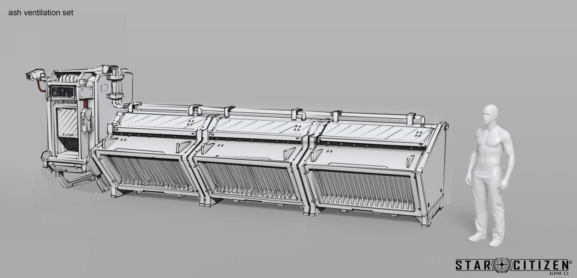 moduł wentylacyjny - koncept 01