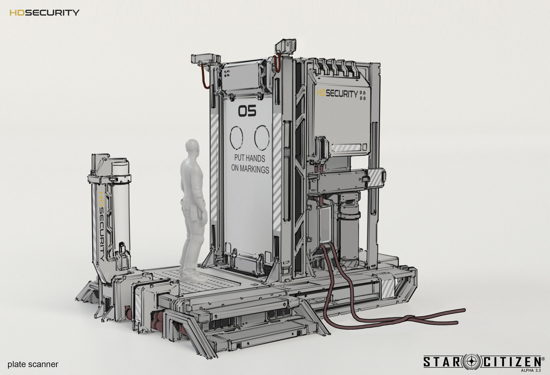 Skaner - koncept 01
