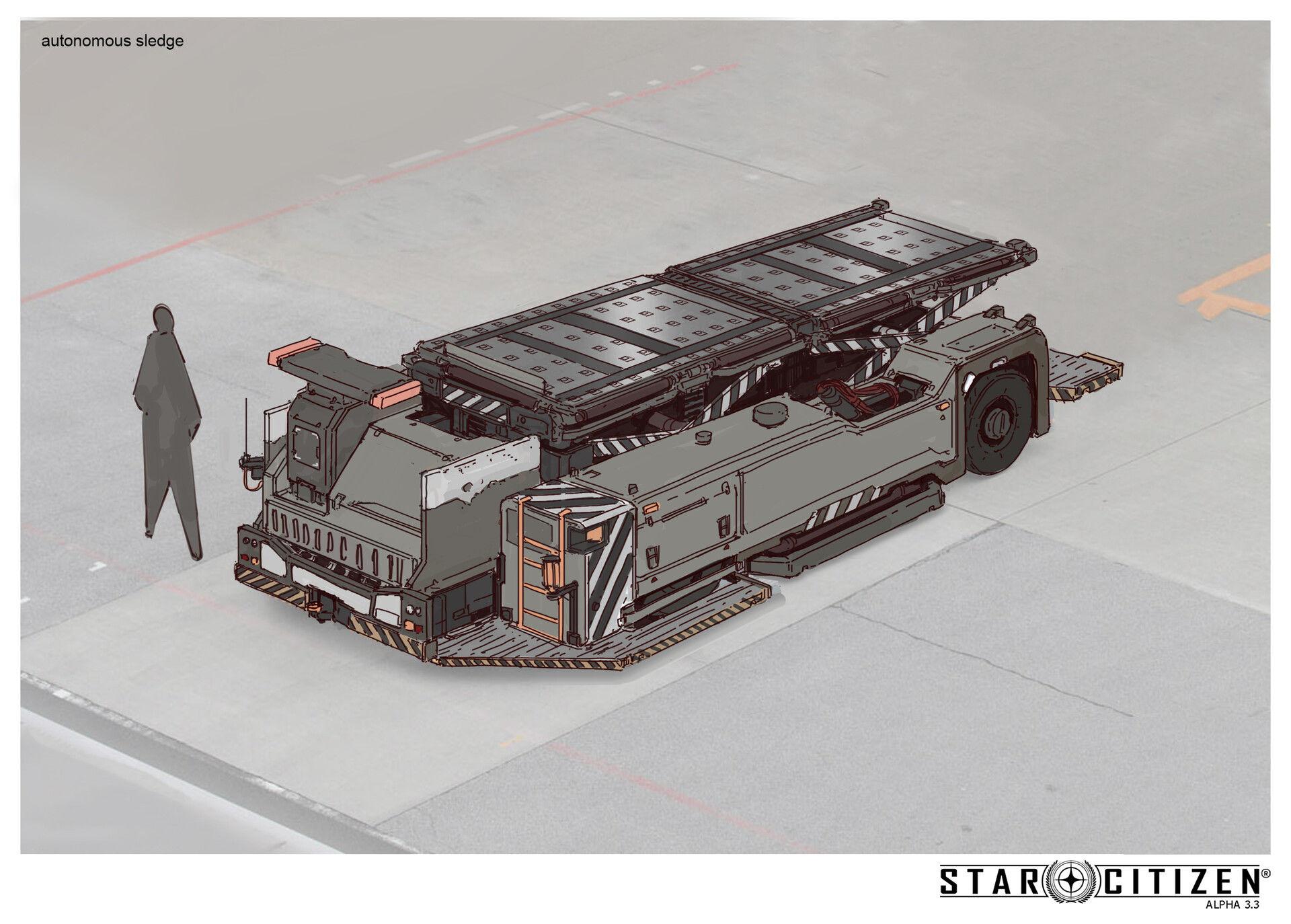 Transporter autonomiczny - koncept 02