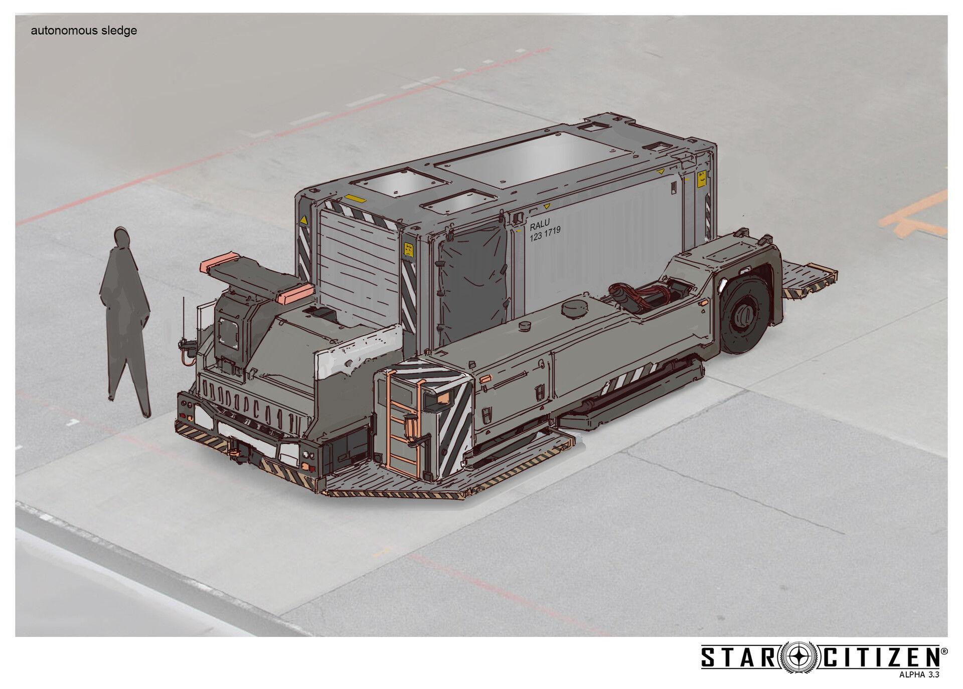 Transporter autonomiczny - koncept 01