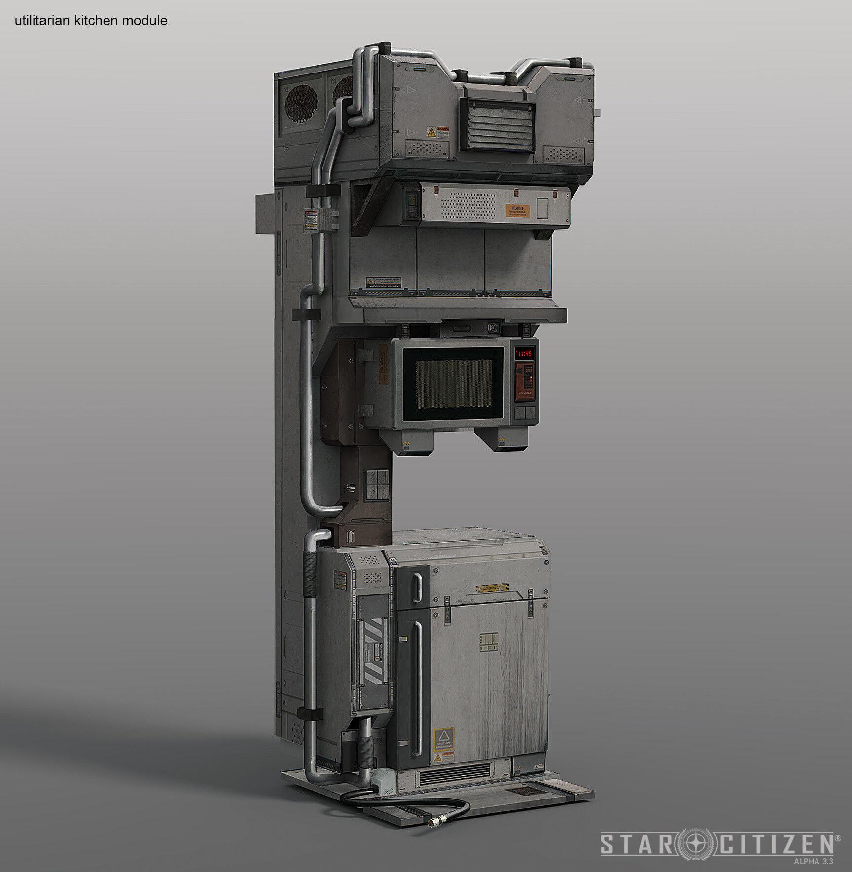 Moduł Kuchenny - koncept 01