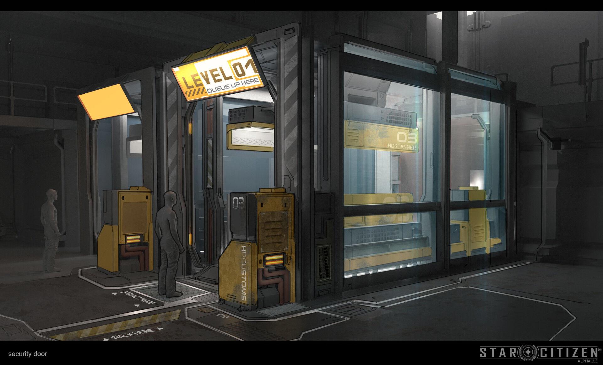 Skaner celny - koncept 03