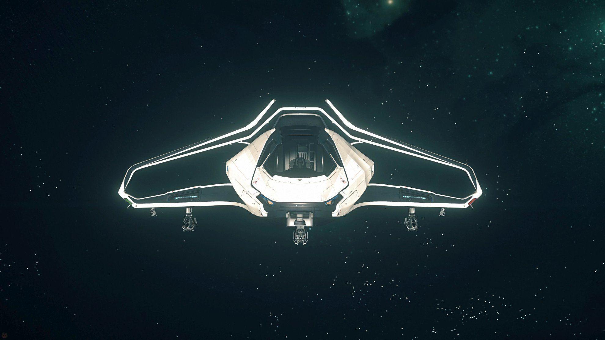 Origin 300i w kosmosie - przód