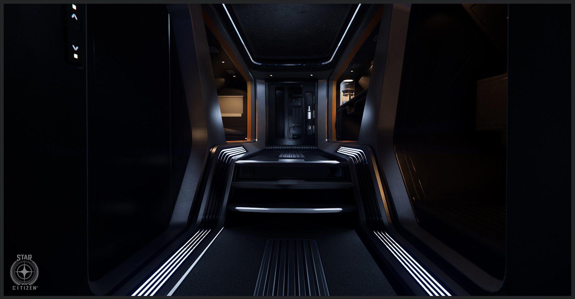 Origin 300i - wnętrze