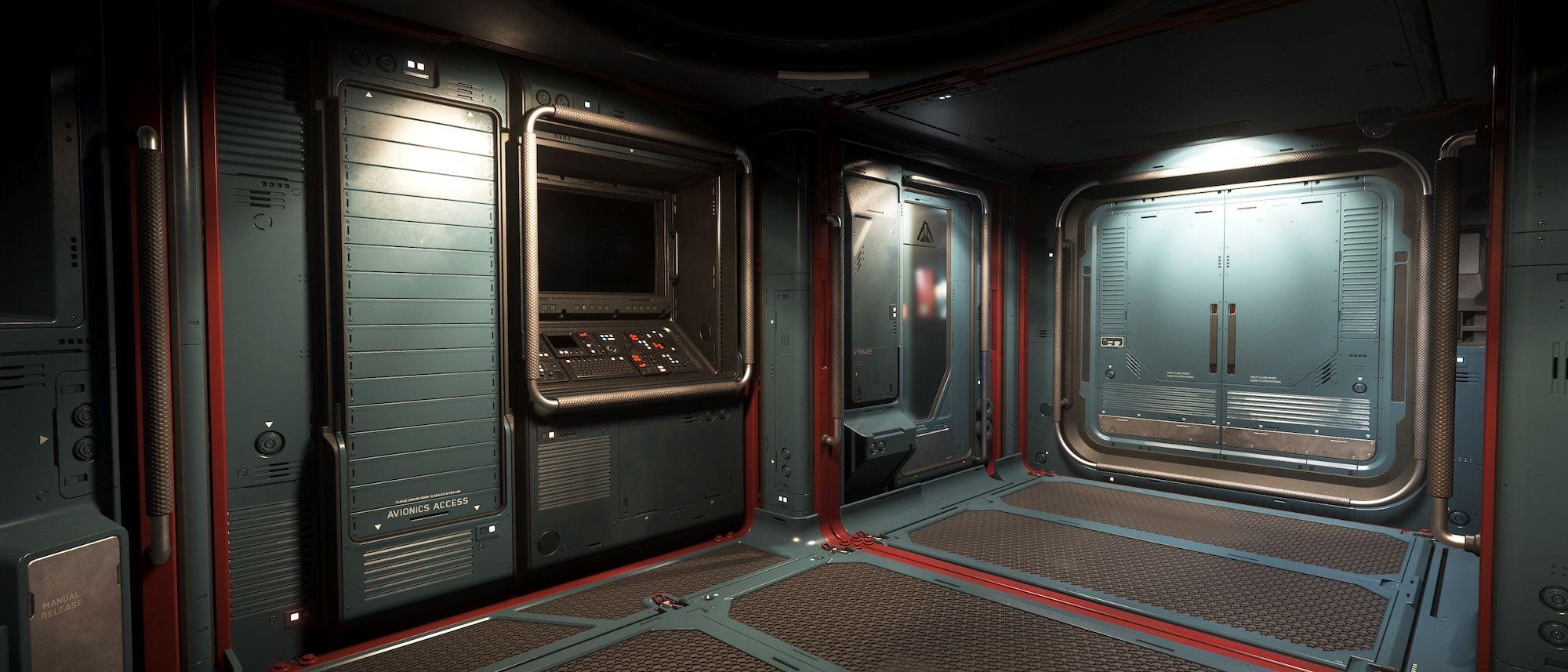 Vanguard Warden - wnętrze