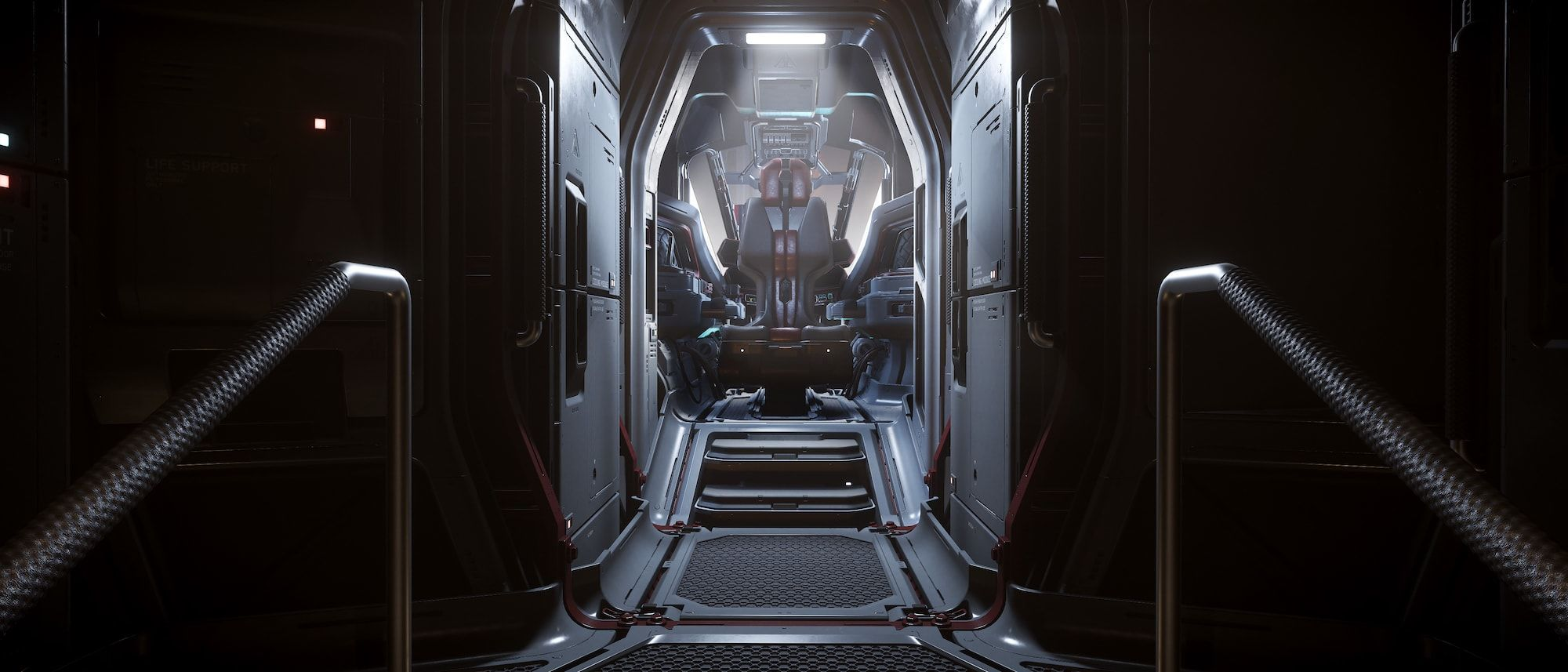 Vanguard - kokpit