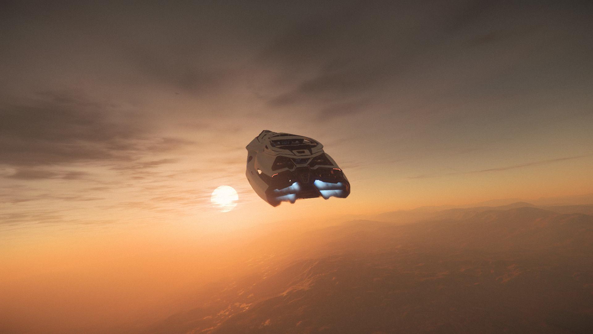 Origin 890 Jump | zachód słońca