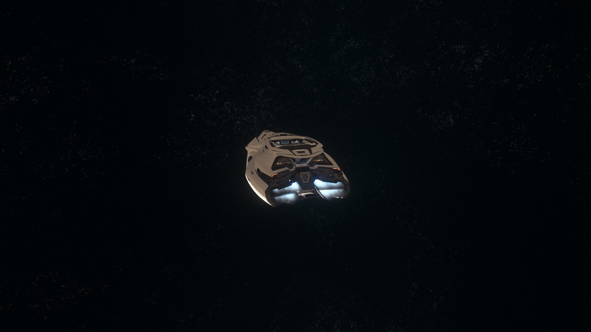 Origin 890 Jump | na tle gwiazd